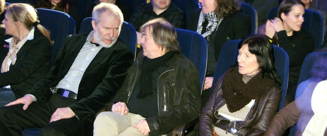 Winfrid Trenkler, Peter Mergener im PlaBO-Publikum